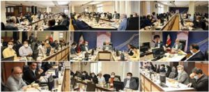 برگزاری نشست روسای سازمانهای نظام مهندسی استانها با حضور احمد خرم