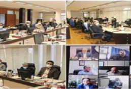 جلسه احمد خرم با روسای سازمان های نظام مهندسی ساختمان کلیه استان ها