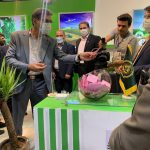نظام مهندسی کشاورزی یزد در نمایشگاه دام، طیور، کشاورزی، ماشینآلات و صنایع وابسته