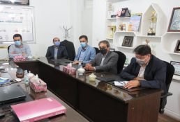 دیدار رییس سازمان نظام مهندسی کشاورزی استان یزد با سرپرست مدیریت پسماند